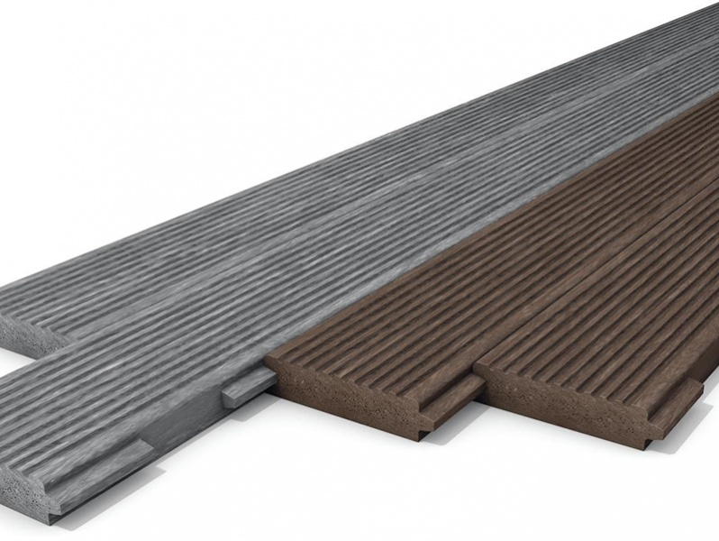 Recycled Mixed Plastic Footpath Planks 170 x 40mm